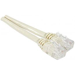 Cable ADSL 2+ cordon Torsadé avec connecteur RJ11 - 5 m (photo)