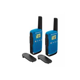 Motorola TLKR T42 2 Talkies Walkies 4 KMS bleu (photo)
