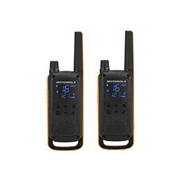 Motorola TLKR T82 EX 2 Talkies Walkies 10 KMS noir (photo)