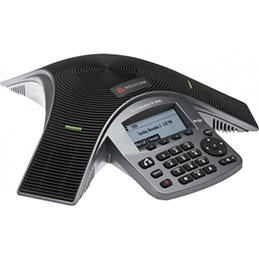Téléconferencier polycom voice station IP5000 sip (photo)