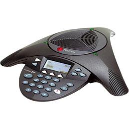 POLYCOM SoundStation 2 EX tele-conferencier analogique extensible (photo)