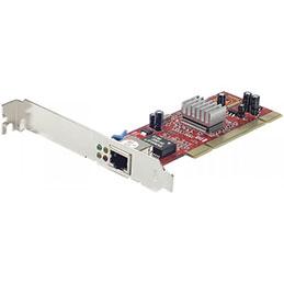 Carte réseau Gigabit 10/100/1000 - PCI Low Profile (photo)