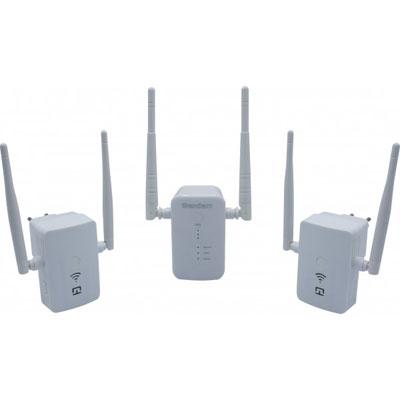 DEXLAN GIGAMESHKIT WiFi BASE + 2 SATELLITES AC1200 DUAL BAND (photo)