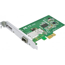 Planet ENW-9701 carte PCI-Express Gigabit SFP fibre optique (photo)