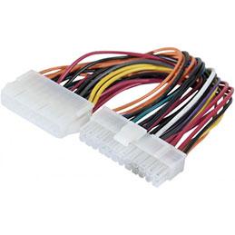 Adaptateur d alimentation 20 pins pour carte mère 24 pins (photo)