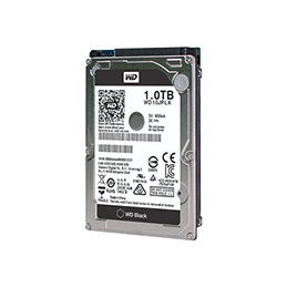 DD 2.5'' SATA III WESTERN DIGITAL Caviar Black - 1To (photo)