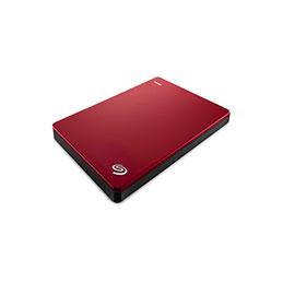 DD EXT. 2.5'' SEAGATE BackupPlus Slim USB 3.0 - 2To Rouge (photo)