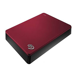 DD EXT. 2.5'' SEAGATE BackupPlus Portable USB 3.0 -4To Rouge (photo)