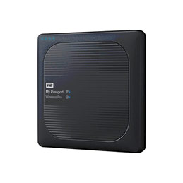 DD EXT. 2.5'' WD My Passport Wireless Pro USB 3.0/WiFi - 3To (photo)