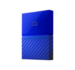 DD EXT. 2.5'' WD My Passport USB 3.0 3To - Bleu (photo)
