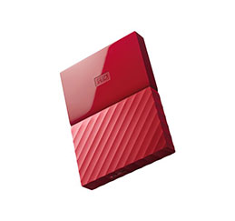 DD EXT. 2.5'' WD My Passport USB 3.0 3To - Rouge (photo)