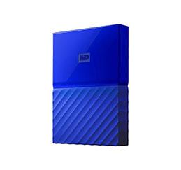 DD EXT. 2.5'' WD My Passport USB 3.0 4To - Bleu (photo)