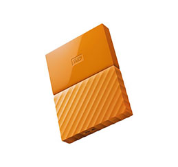 DD EXT. 2.5'' WD My Passport USB 3.0 4To - Orange (photo)