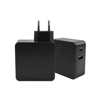CHARGEUR SECTEUR 2 PORTS USB + TYPE C POWER DELIVERY (photo)