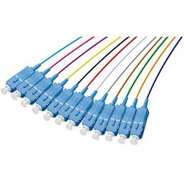 Pigtail om3 scupc lsoh 12 connecteurs 2m