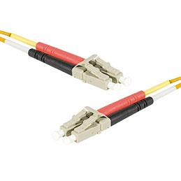 Jarretière optique duplex HD multi OM1 62,5/125 LC-UPC/LC-UPC orange - 1 m