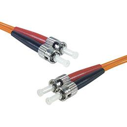 Jarretière optique duplex HD multi OM1 62,5/125 ST-UPC/ST-UPC orange - 5 m
