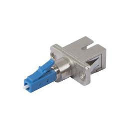 Adaptateur fibre monomode LC male / SC femelle (photo)