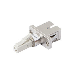 Adaptateur fibre multimode LC male / SC femelle (photo)