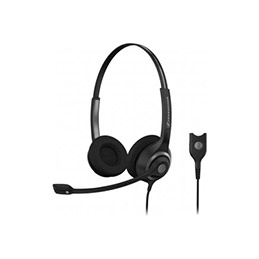 Sennheiser SC 260 casque-micro  CircleFlex - 2 écouteurs (photo)