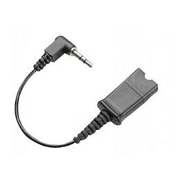 PLANTRONICS câble QD-jack 3.5mm pour Alcatel série 8 et 9