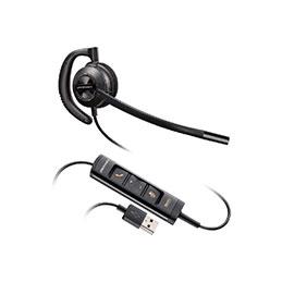 PLANTRONICS EncorePro HW535 oreillette USB PC/MAC 1 écouteur (photo)