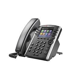 POLY VVX 411 téléphone de bureau IP PoE - 12 lignes SIP