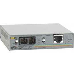Allied AT-MC102XL convert. RJ45 - fibre 100FX SC 2km