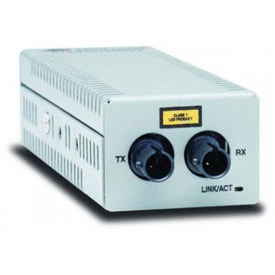 ALLIED AT-DMC1000/ST-50 Desktop Mini Media Converter, 1000TX to 1000SX ST Connec (photo)