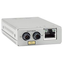 ALLIED AT-MMC200/ST-60 Media Converter RJ45 10/100 to 100FX MM, ST Duplex