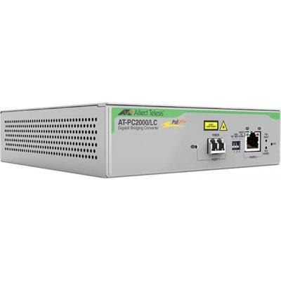ALLIED AT-PC2000/LC-60 Convertissseur Gigabit PoE+ vers 1000SX LC
