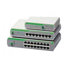 ALLIED AT-FS710/8E SWITCH 8 PORTS 10/100 METAL ECO (photo)