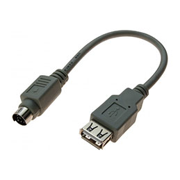 ADAPTATEUR USB 2.0 A F / MDIN6 M GRIS 0,2 M (photo)