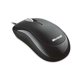 Souris microsoft ready mouse souris optique 3 boutons usb