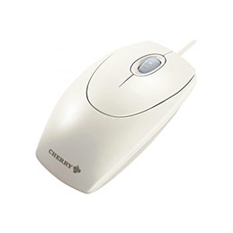 CHERRY SOURIS OPTIQUE WHEELMOUSE USB/PS2 1000DPI GRIS (photo)