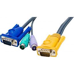 Cable kvm E5 ATEN 2L-52xxP - 3M