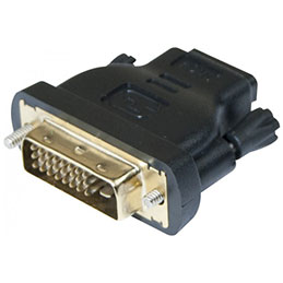 Adaptateur hdmi f dvi m (photo)