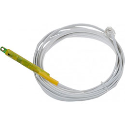 Capteur combiné temp+humid. sur cable RJ11 - 3m (photo)