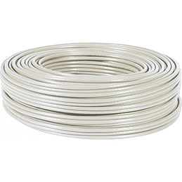 Cable multibrin CAT7 s/ftp pvc gris - 100 m (photo)