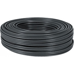 Cable multibrin f/utp CAT5E noir - 100M (photo)