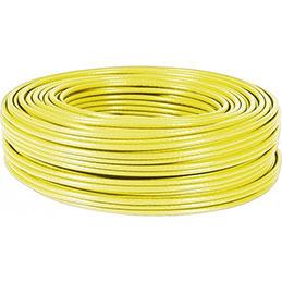 Dexlan cable multibrin s/ftp CAT6 jaune - 100M