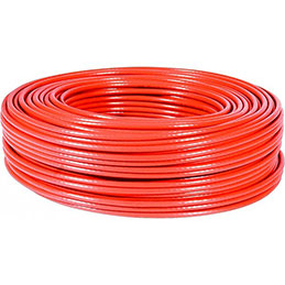 Cable multibrin f/utp CAT6A LS0H rouge - 100M (photo)