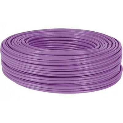 Dexlan cable double mono f/utp CAT6 violet LS0H rpc Eca-100M
