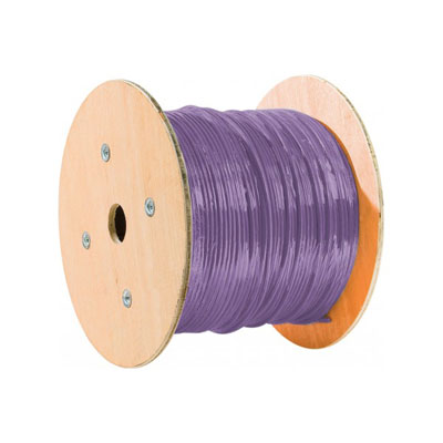 Dexlan cable double mono f/utp CAT6 violet LS0H rpc Eca-500M