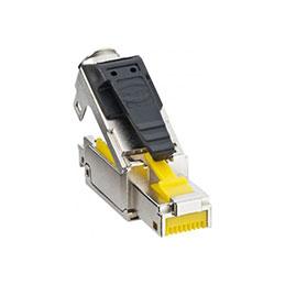 LEONI MegaLine Connect45 plug RJ45 de terrain CAT6A STP ISO
