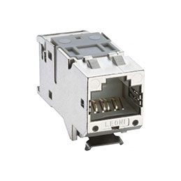LEONI MegaLine Connect45 PRO embase noyau RJ45 CAT6A STP ISO (lot de 24)