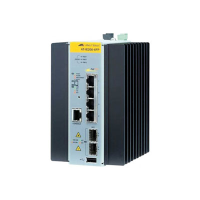 ALLIED AT-IE200-6FP-80 Switch indust. 4p 10/100 & 2 SFP 100/1G (photo)