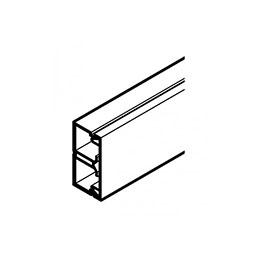 REHAU MOULURE AXIS MINI 32x16 - 2 COMPARTIMENTS PVC BLANC 2 m