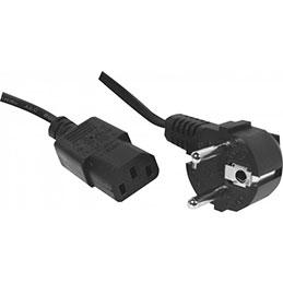 Cordon d alimentation PC CEE7 / C13 noir - 2,5 m