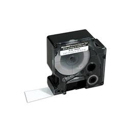 Ruban étiquette Dymo - Polyester Métal 9 mm (photo)